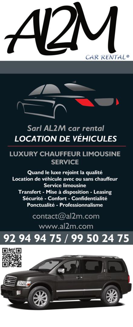 Un service de location de voiture sans conducteur
